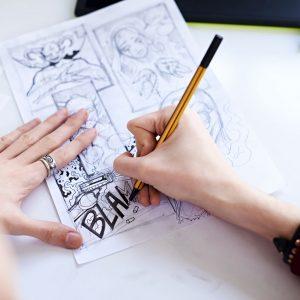 Curso dibujo cómics